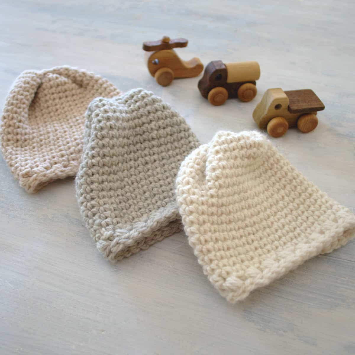 Sugar Sprout Newborn Hat Pattern