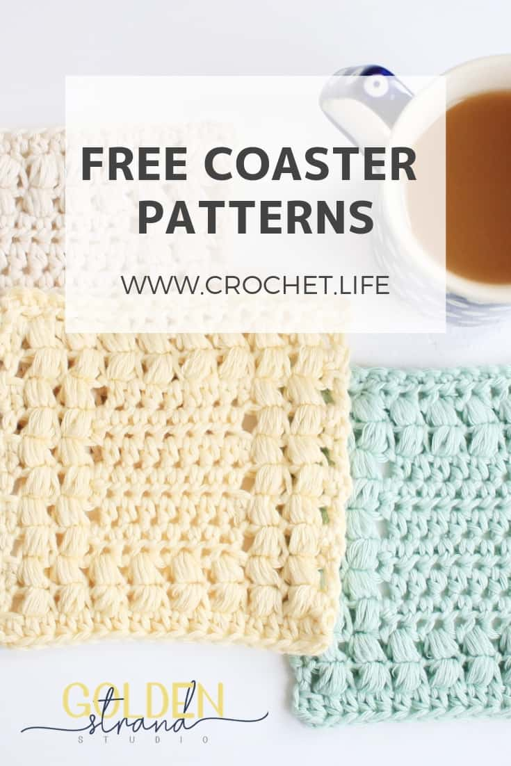 Easy Free Crochet Coaster And Placemat Patterns Set Crochet Life