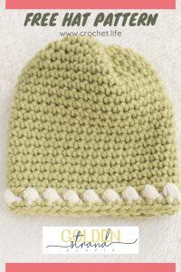 Free Hat Pattern Newborn Sugar Sprout