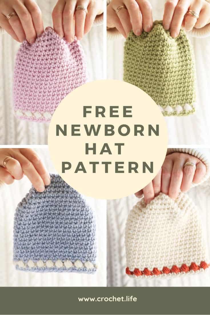 Newborn Hat Pattern Free