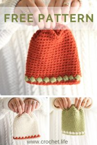 Sugar Sprout Hat Free Pattern