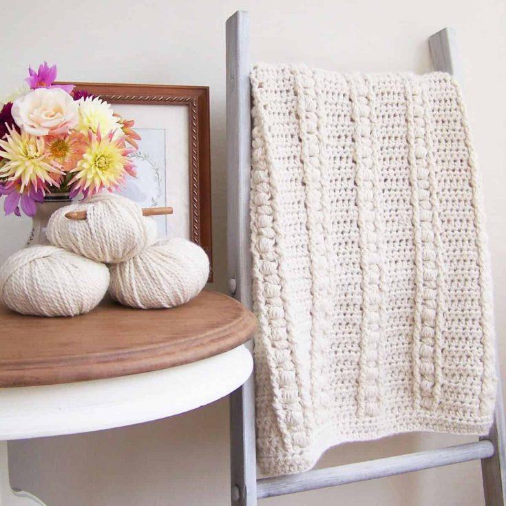 Bulky Crochet Blanket Free Pattern
