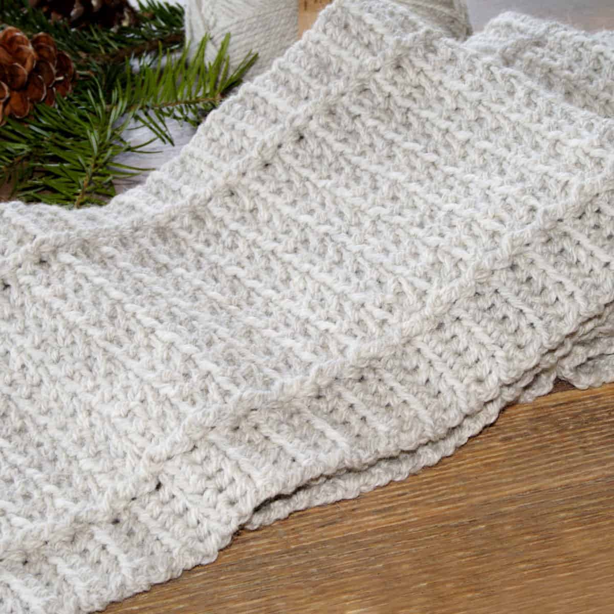 Free Crochet Scarf Easy Pattern