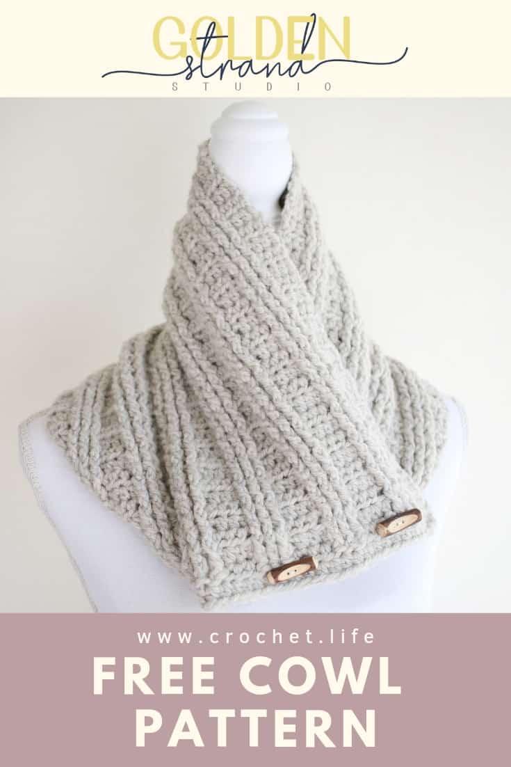 Free Crochet Cowl Easy Pattern Sugar Maple