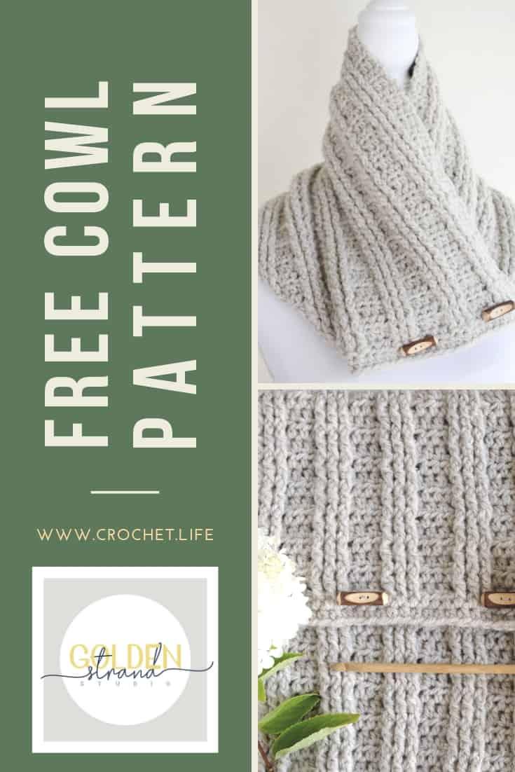 Free Cowl Pattern Sugar Maple