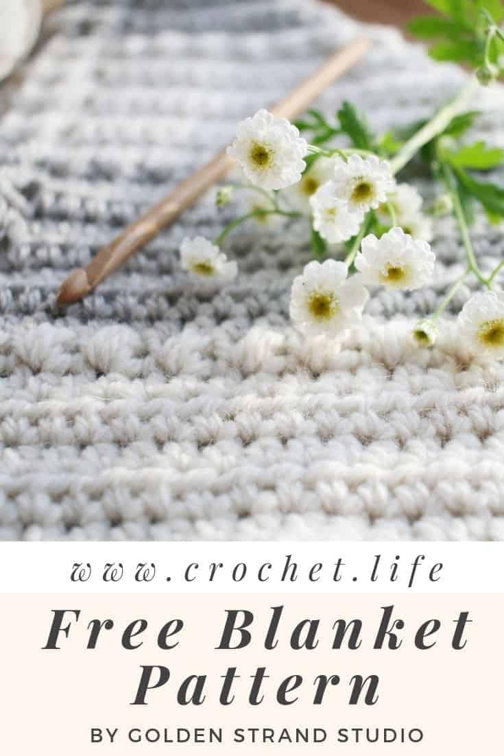 Free Blanket Easy Crochet Pattern Flutterby