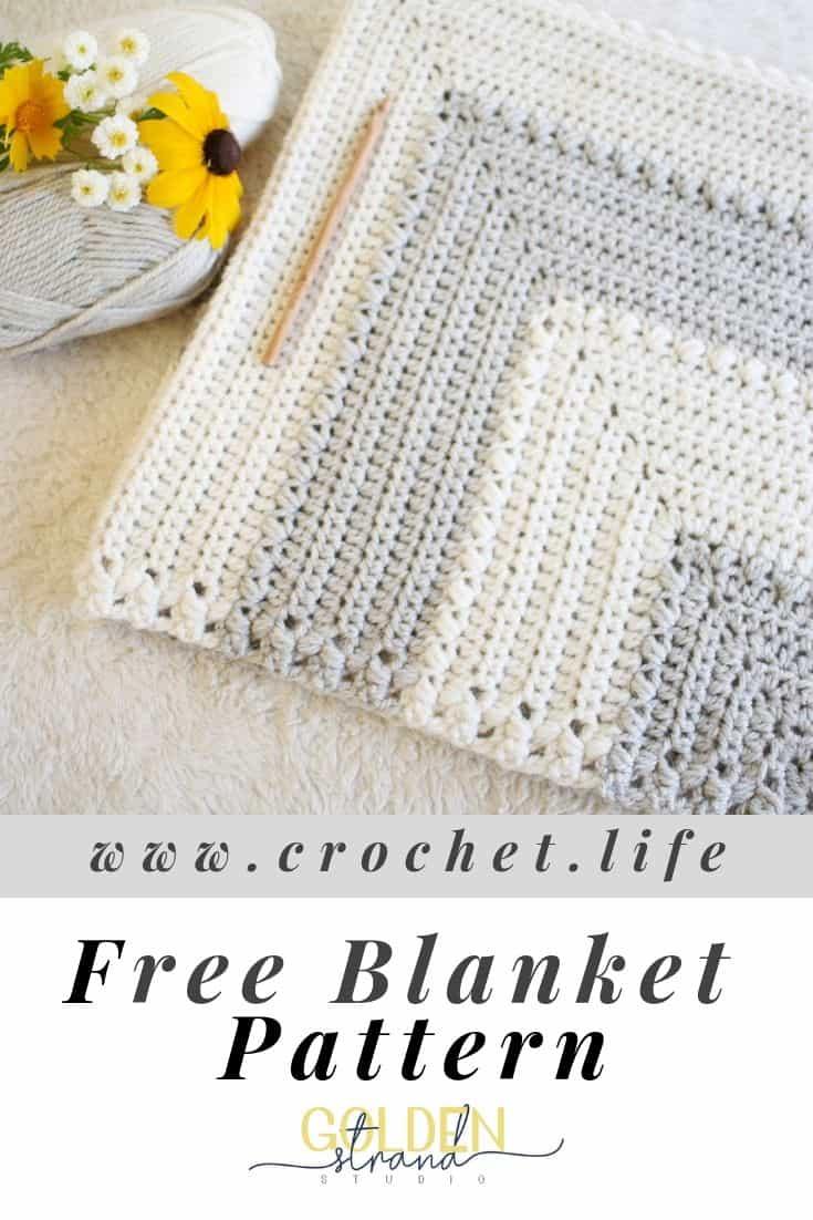 Baby Blanket Free Crochet Pattern Flutterby