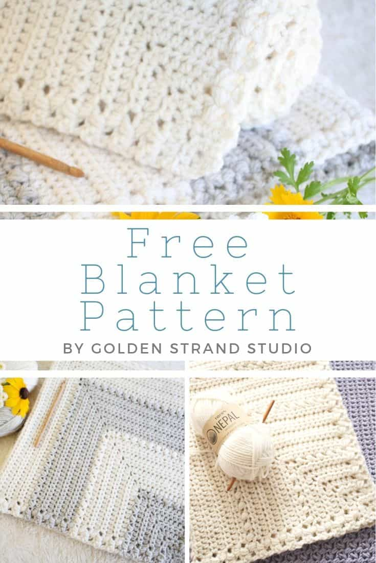 Easy Free Crochet Baby Blanket