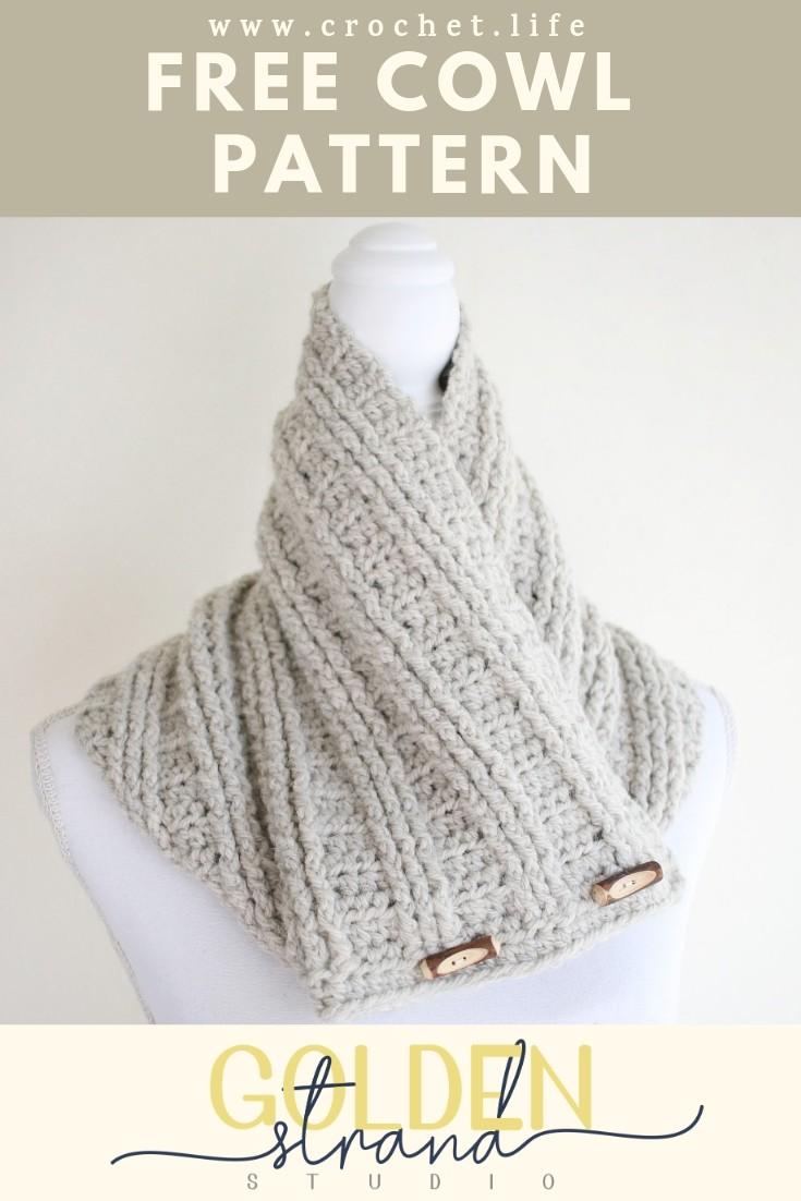 Easy Crochet Sugar Maple Cowl