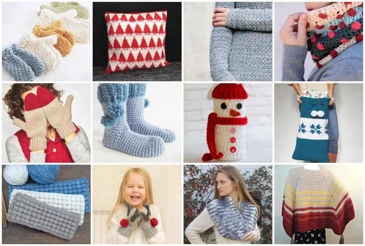 Happy Holidays Crochet Bundle Sample