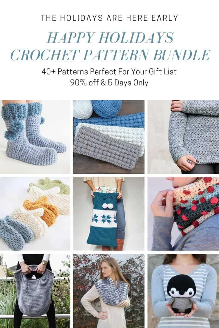 Happy Holidays Crochet Pattern Bundle