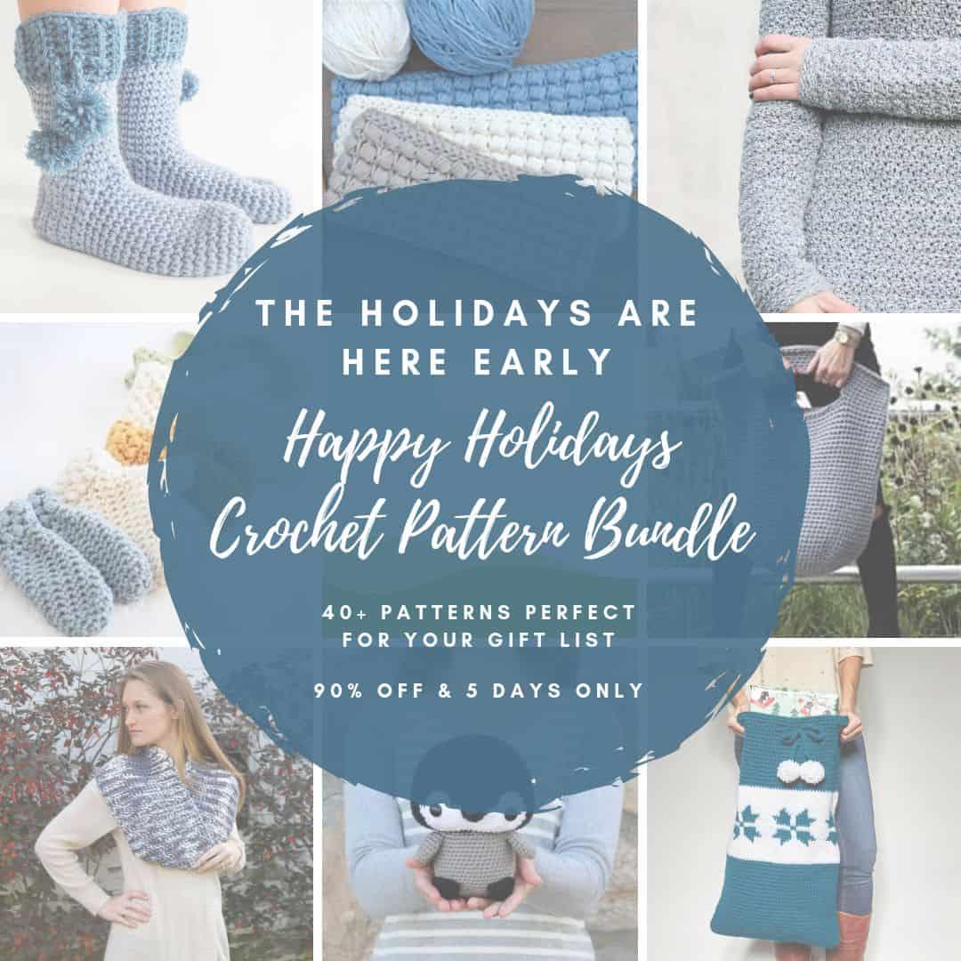 2018 Happy Holidays Crochet Bundle