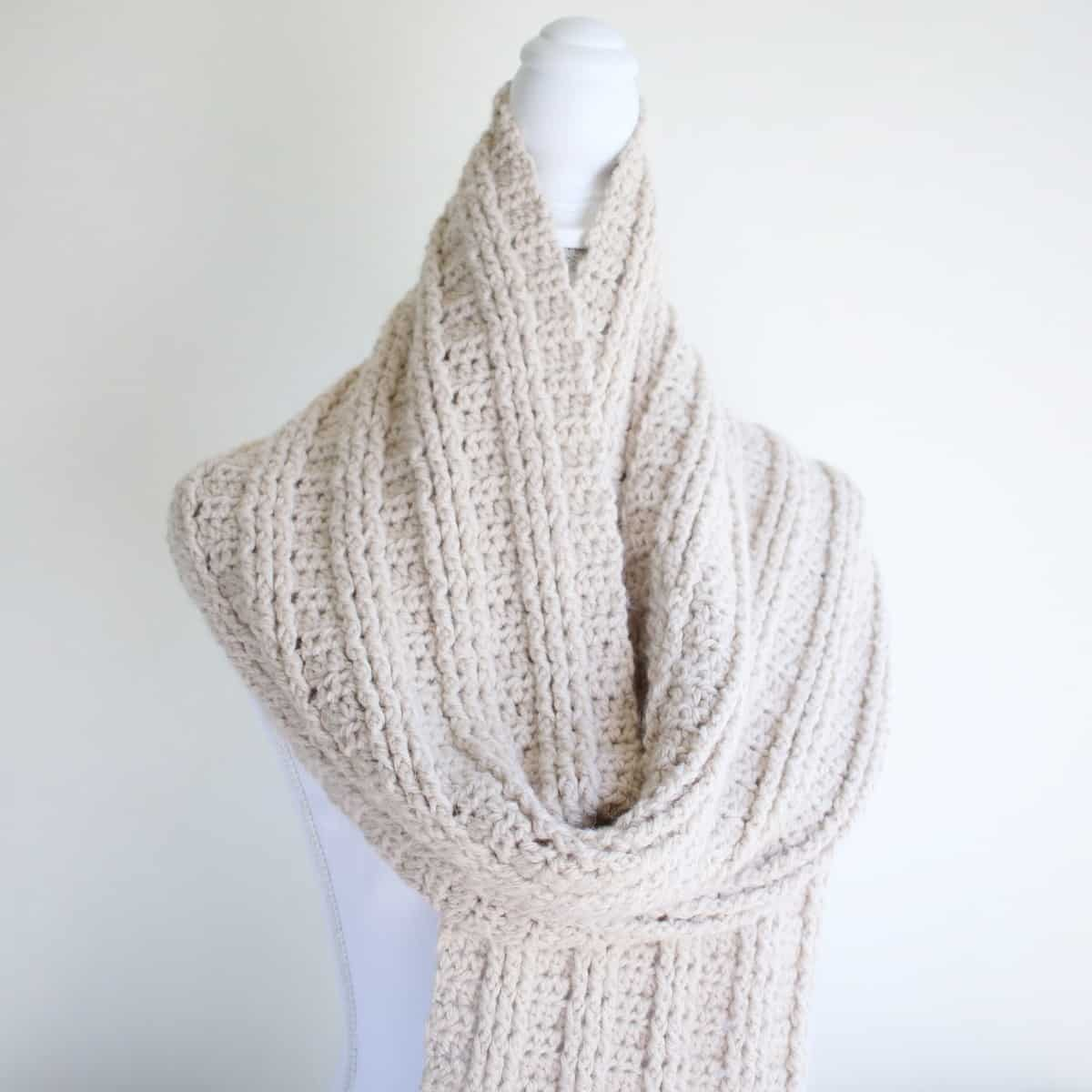 Free Sugar Maple Scarf Pattern