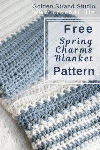 easy baby blanket crochet project