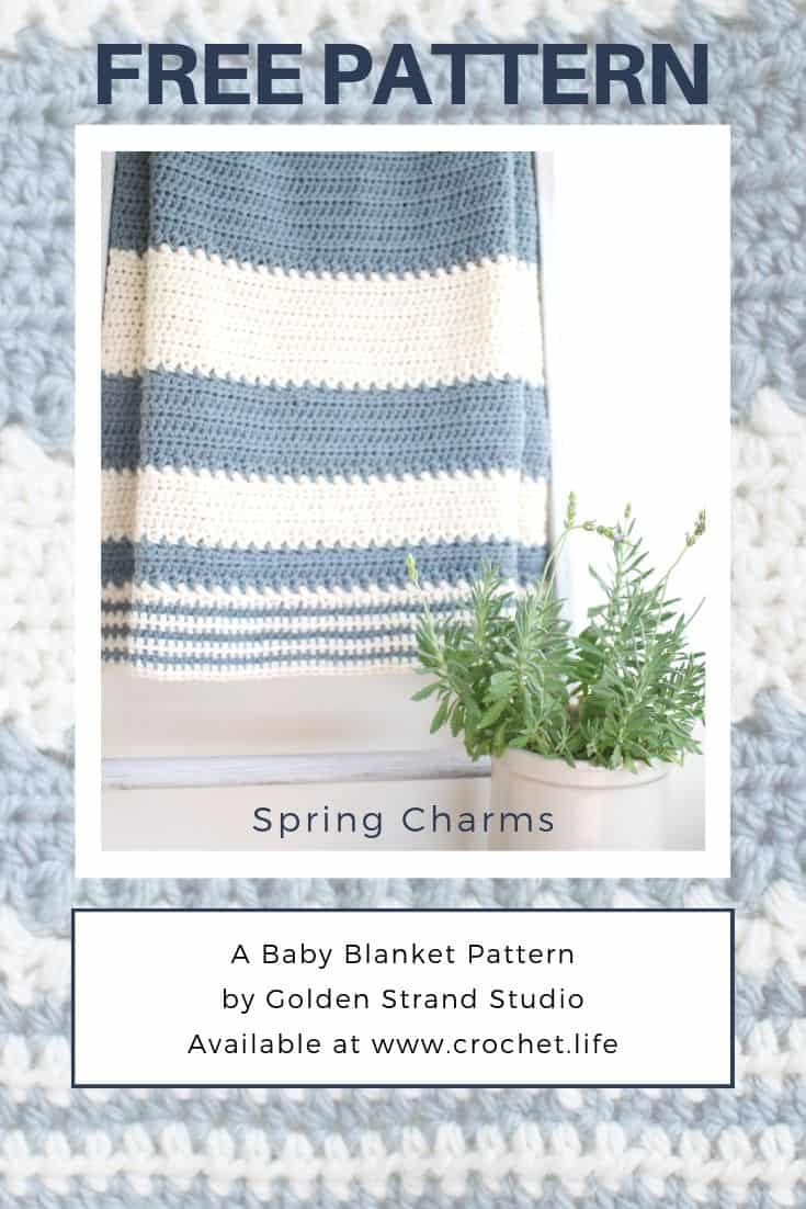 free nursery decor baby blanket