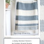 DIY baby shower crochet project