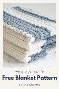 crochet free blanket baby nursery pattern