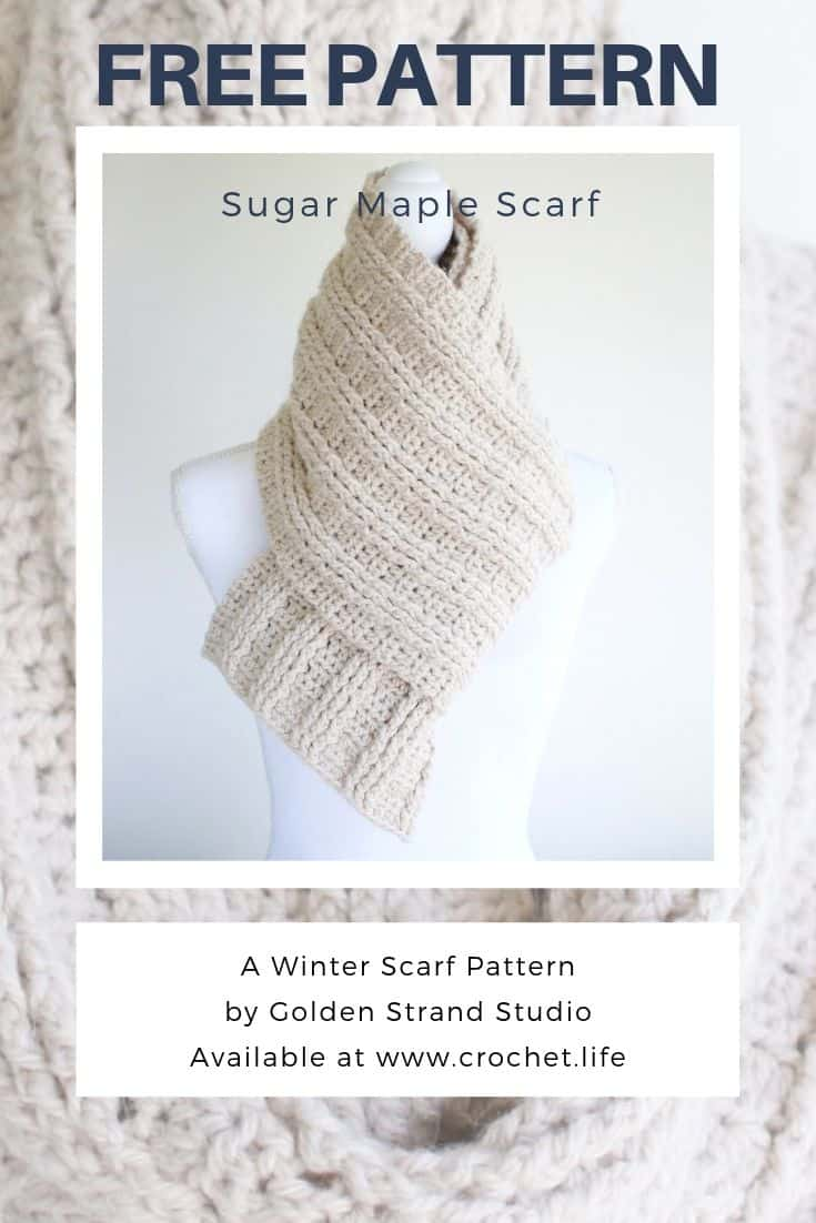 Free Long Winter Scarf Pattern