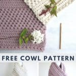 Warm and Bulky Crochet Cowl Free Pattern