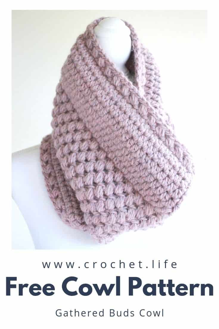 Easy to Crochet Womens Cowl Pattern
