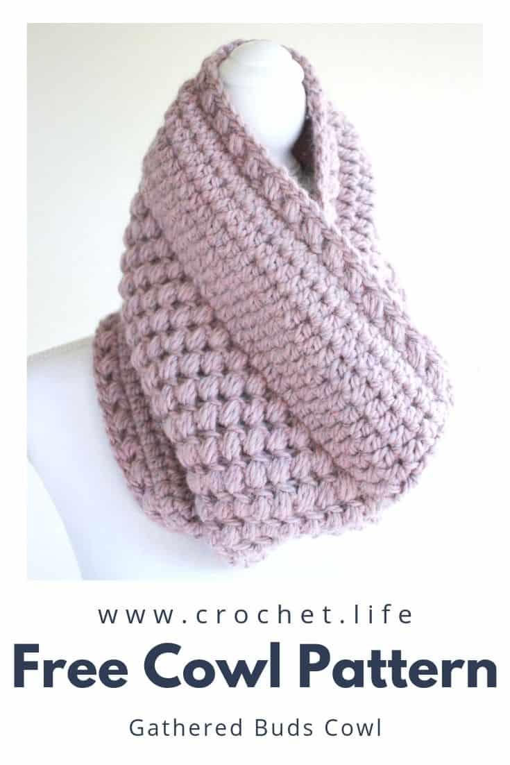 Easy to Crochet Womens Cowl Pattern
