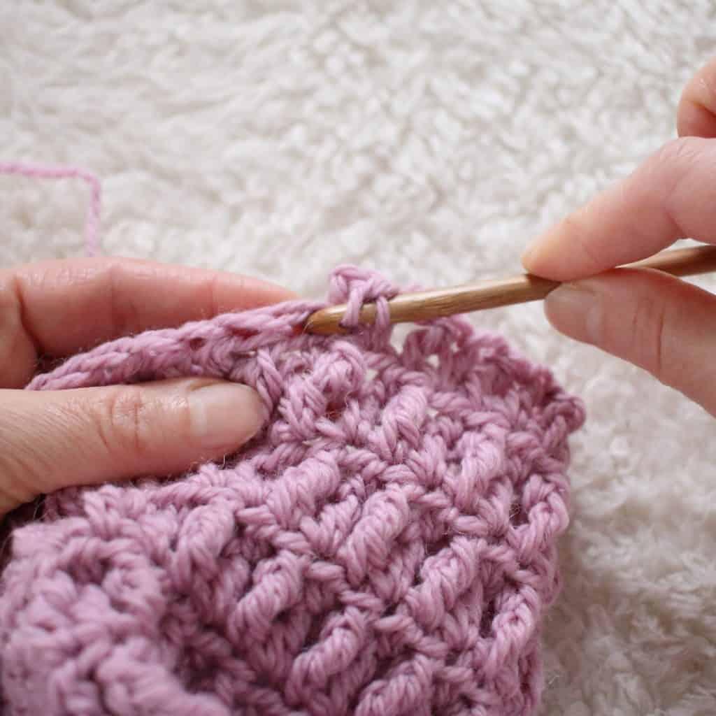 Free Baby Blanket Crochet Pattern With Built In Border Crochet Life