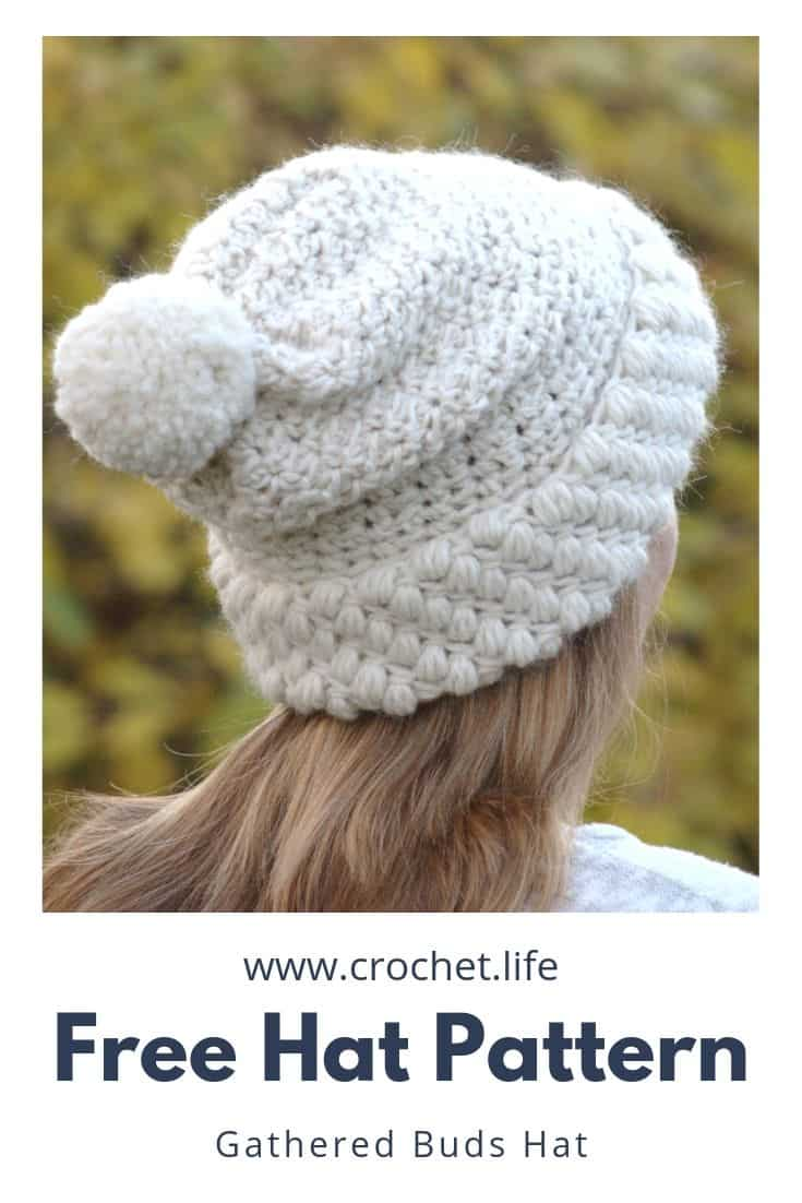 Easy to crochet hat for her (or him).