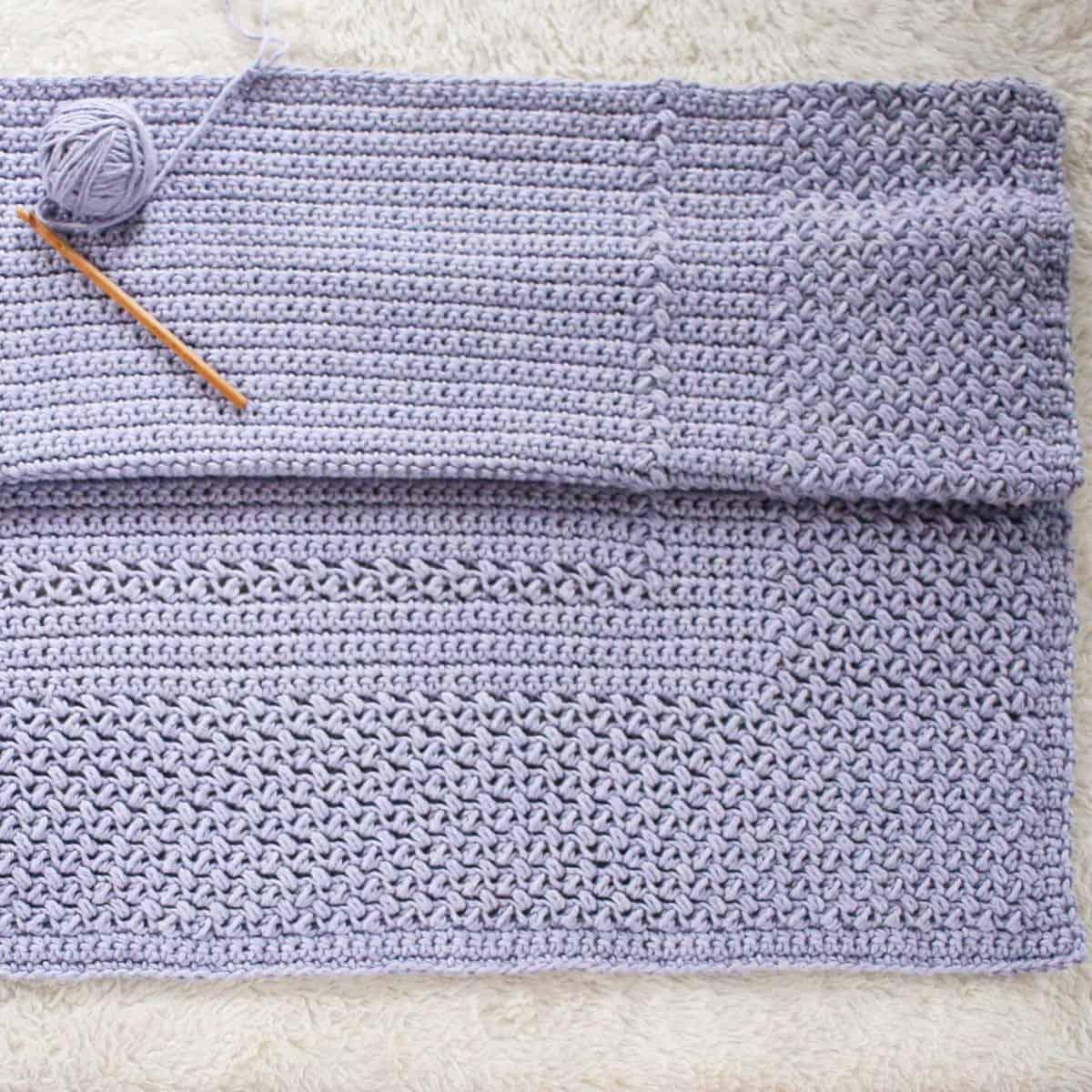 Easy Crochet Baby Blanket Free Crochet Pattern Crochet Life
