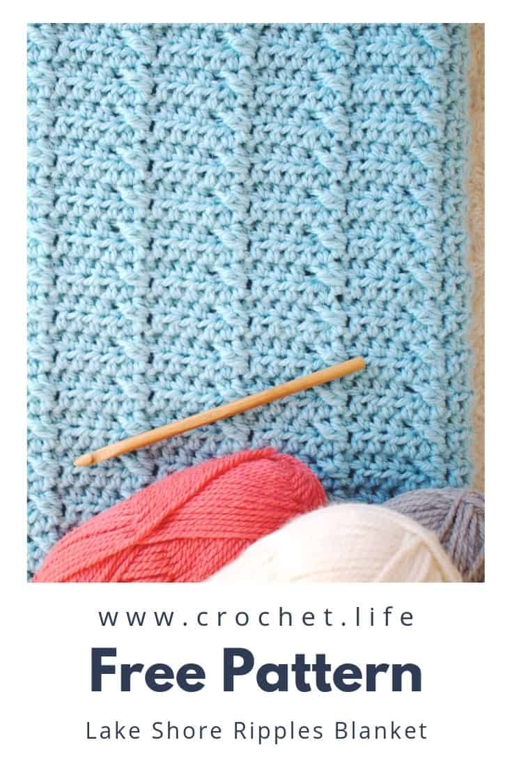 Free Crochet Pattern Lakeshore Ripples