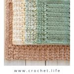 Easy Dishcloth and Hand Towel Pattern Set