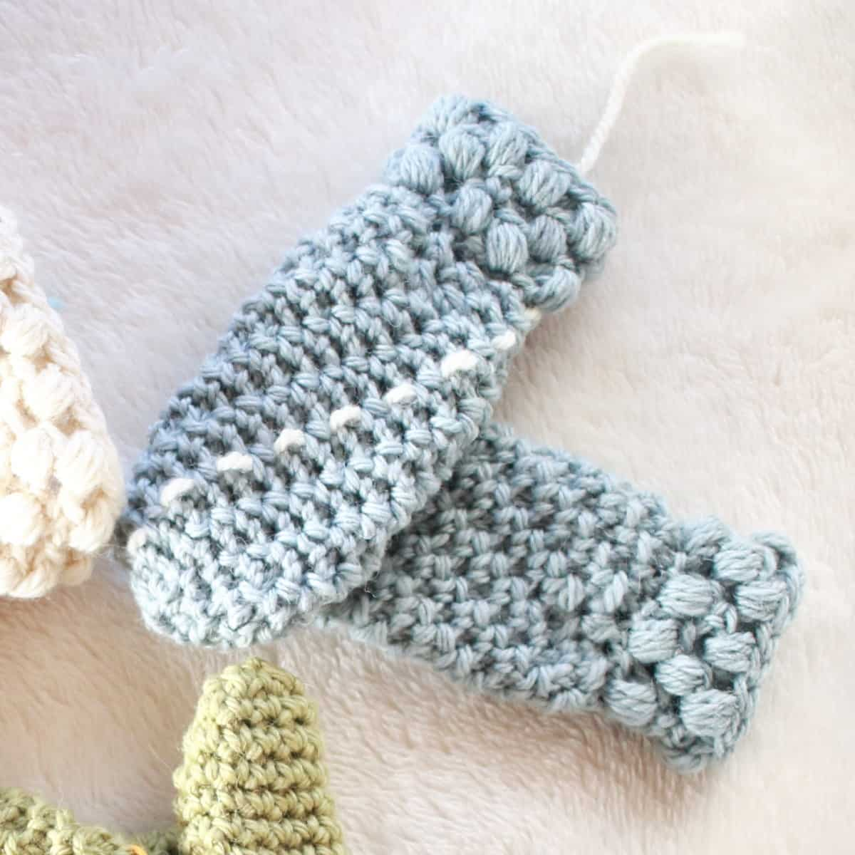 Example Stitch Marker for Gathered Buds Toddler Mitten