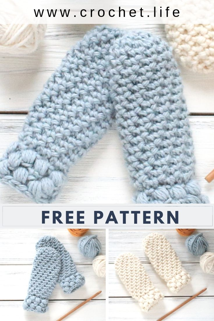 Need a quick toddler gift? Try the Gathered Buds Mitten Pattern.