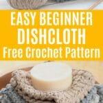 Crochet Dishcloth Collage