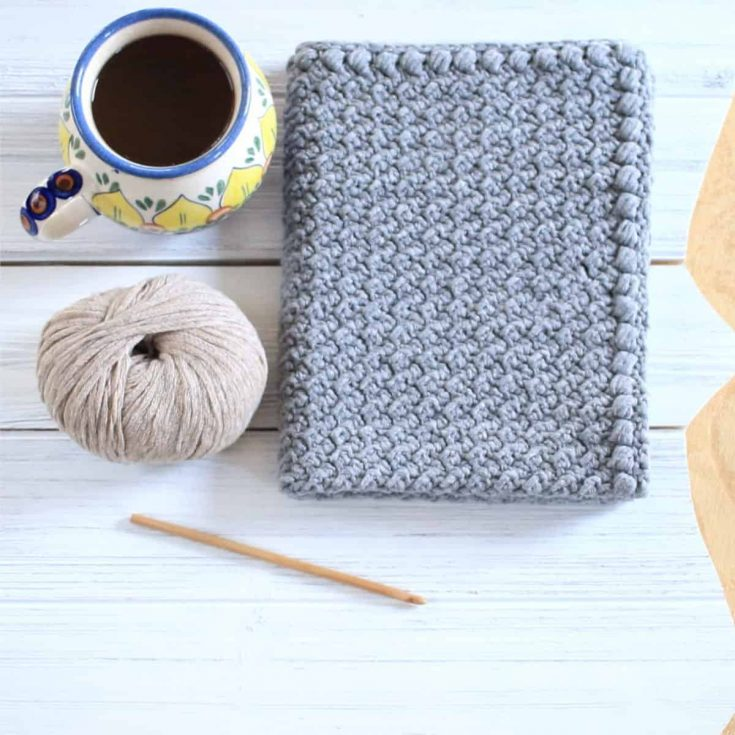 Easy Free Crochet Hand Towel Pattern