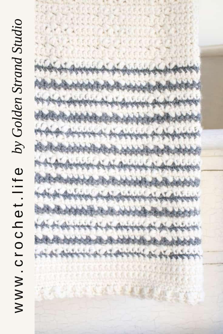 Classic Crochet Blanket. Wundran Pattern is Free.
