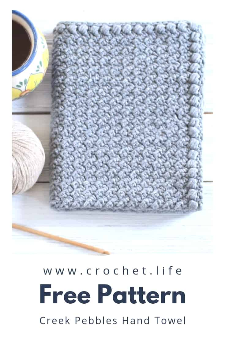 Easy Crochet Hand Towel Pattern
