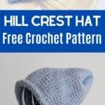 Hill Crest Hat Pattern Collage
