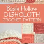 Basin Hollow dishcloth collage