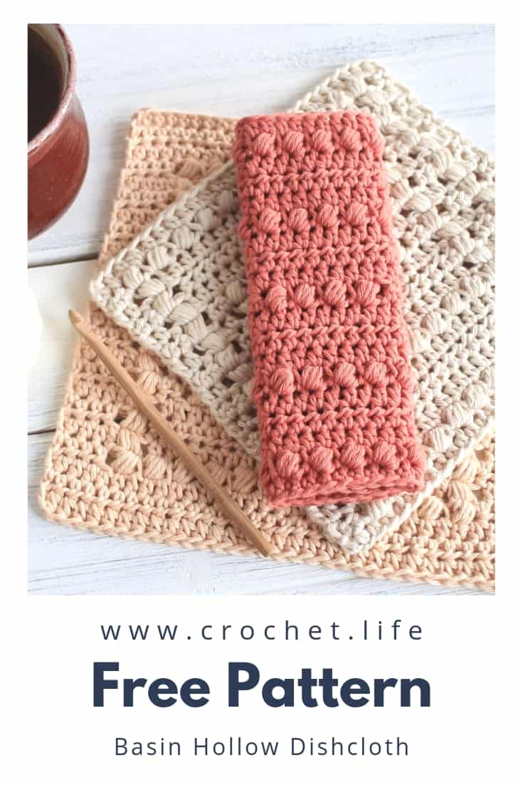 Free Crochet Dishcloth Patterns - Easy DIY Project