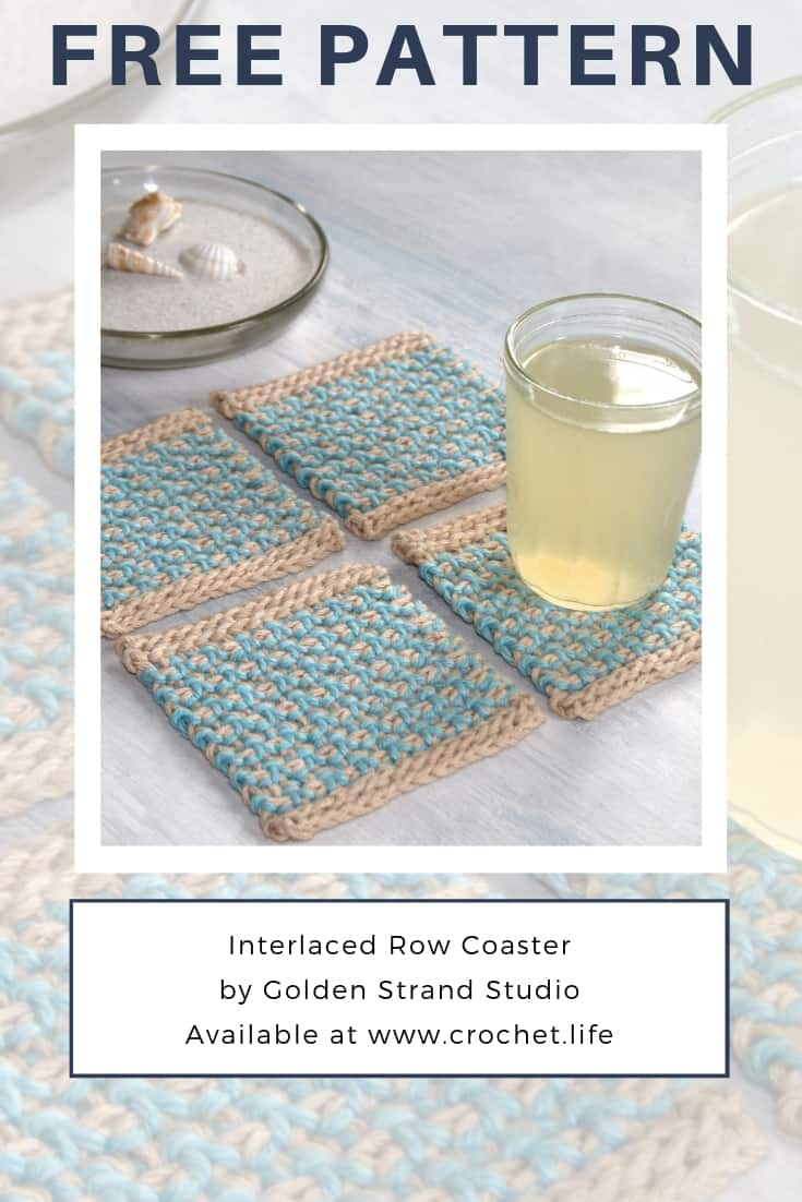 Easy Crochet Coaster Project