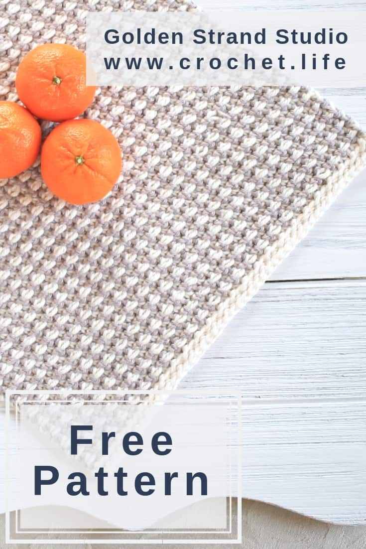 Easy DIY Free Crochet Placemat Pattern