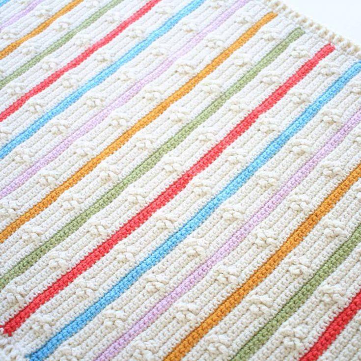 Easy Free Crochet Blanket Pattern