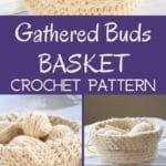 Gathered Buds Basket Collage