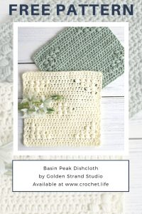 Simple Crochet Dishcloth Free Pattern