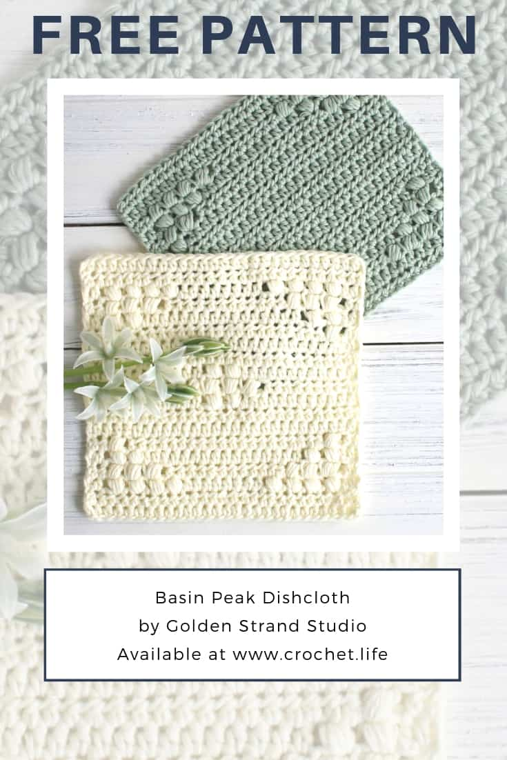 Simple Crochet Dishcloths Free Pattern