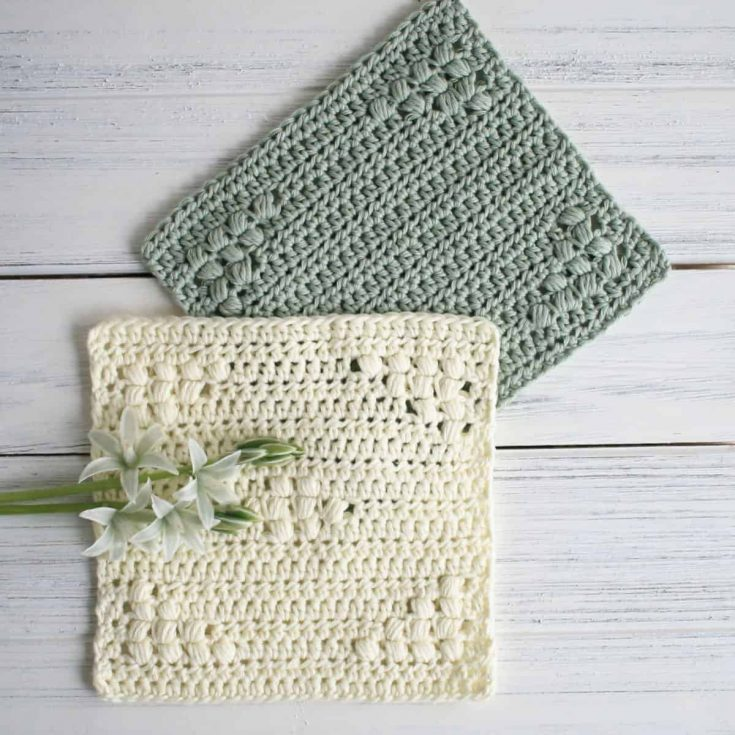 How to Make Crochet Dishcloths