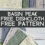 Basin Peak Dishcloth Collage