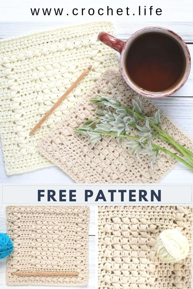 Easy DIY Dishcloth Crochet Pattern