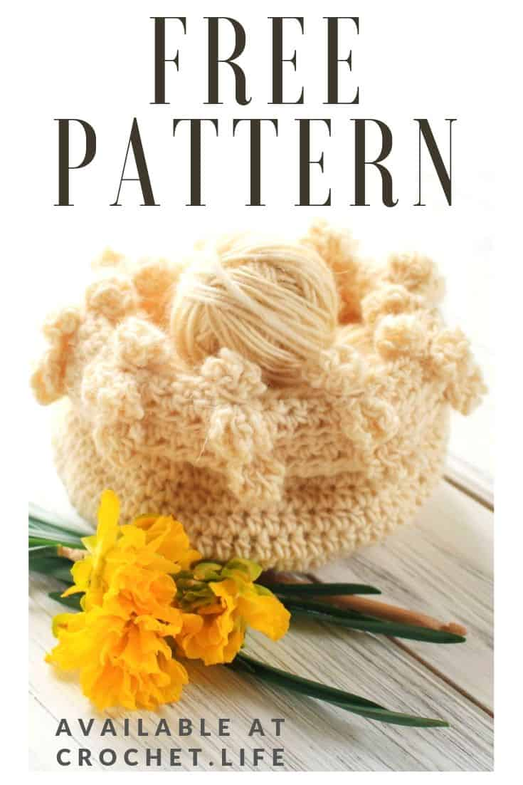 Free Crochet Basket Pattern