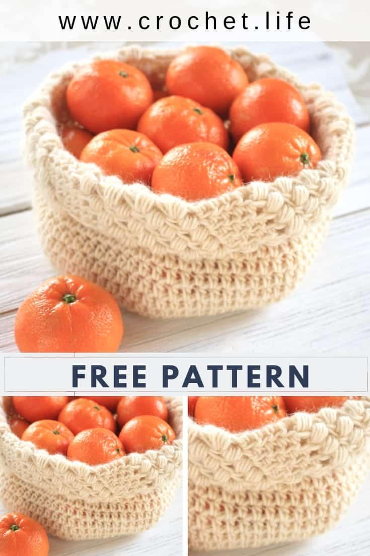 Simple Crochet Basket Pattern